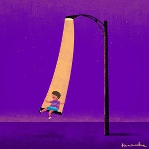Картинка иллюстрирует удивительное воображение (правда не испанского) художника