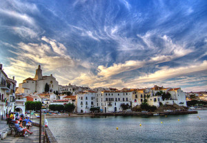 Испанский город Cadaquez
