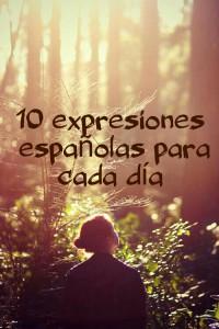 10 испанских выражений на каждый день