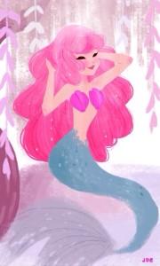 La sirenita se encuentra en el fondo del mar