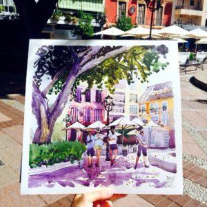 Fuengirola от Насти Youkki_art