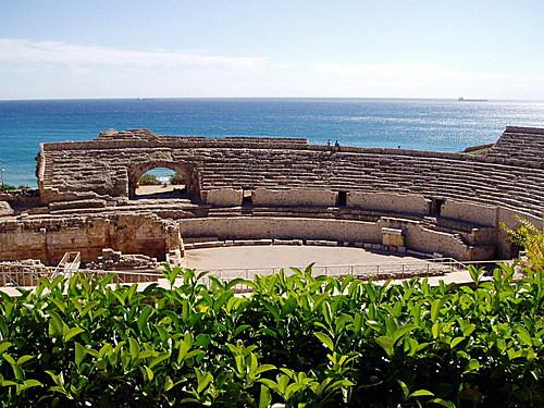 Teatro romano en Tarragona
