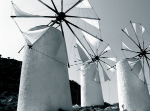 Tres molinos de viento