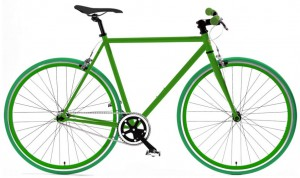 Fixed-Wheel-bicycle