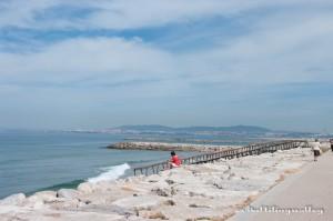 Costa de Caparica - длинный-длинный песчаный пляж в 20 минутах от Лиссабона