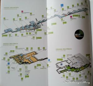 План лиссабонского аэропорта