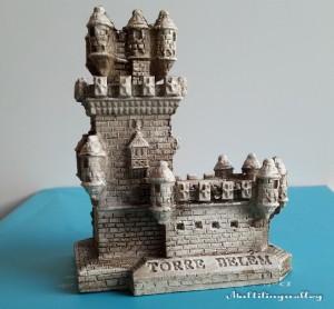 Беленская башня в миниатюре