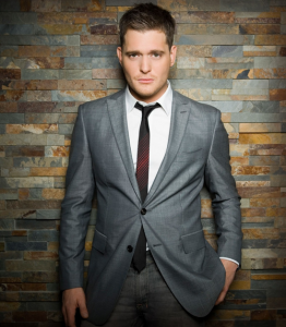 Mega popular nowadays Canadian singer Michael Bublé