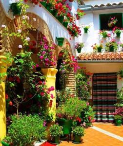 Patios típicos de Andalucía - типичные дворики юга Испании