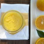 Fresh orange curd