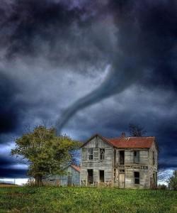 A tornado in Kansas