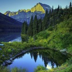 Montana. Lake Josephine