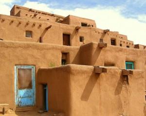 Adobe pueblo Taos