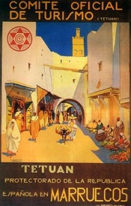 Tetuan - la ciudad donde se desarolla la historia de Sira