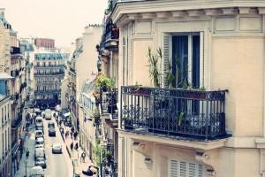 Un immeuble typique parisien