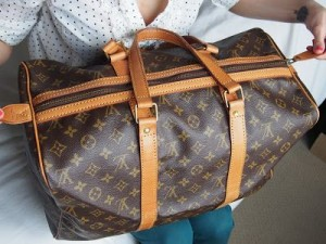 A fake Louis Vuitton bag
