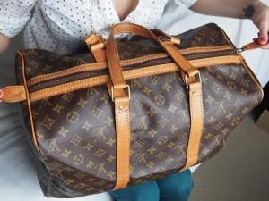 A fake Louis Vuitton bag