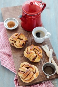 Kanelbullar - шведские булочки с корицей