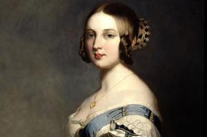 Королева Виктория в молодости
