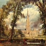 "John Constable - Джон Констебл. ""Собор в Солсбери"""