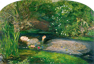 J. E. Millais - Джон Эверетт Милле. Офелия