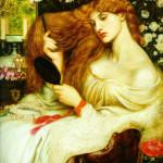 "Dante Gabriel Rossetti - Данте Габриель Россетти. ""Леди Лилит"""