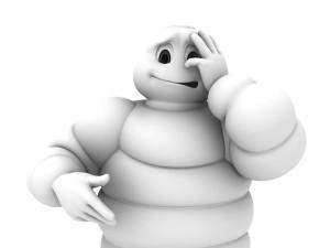 um boneco Michelin