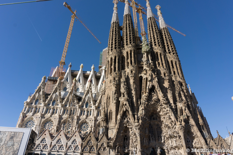 La Sagrada Familia es impresionante