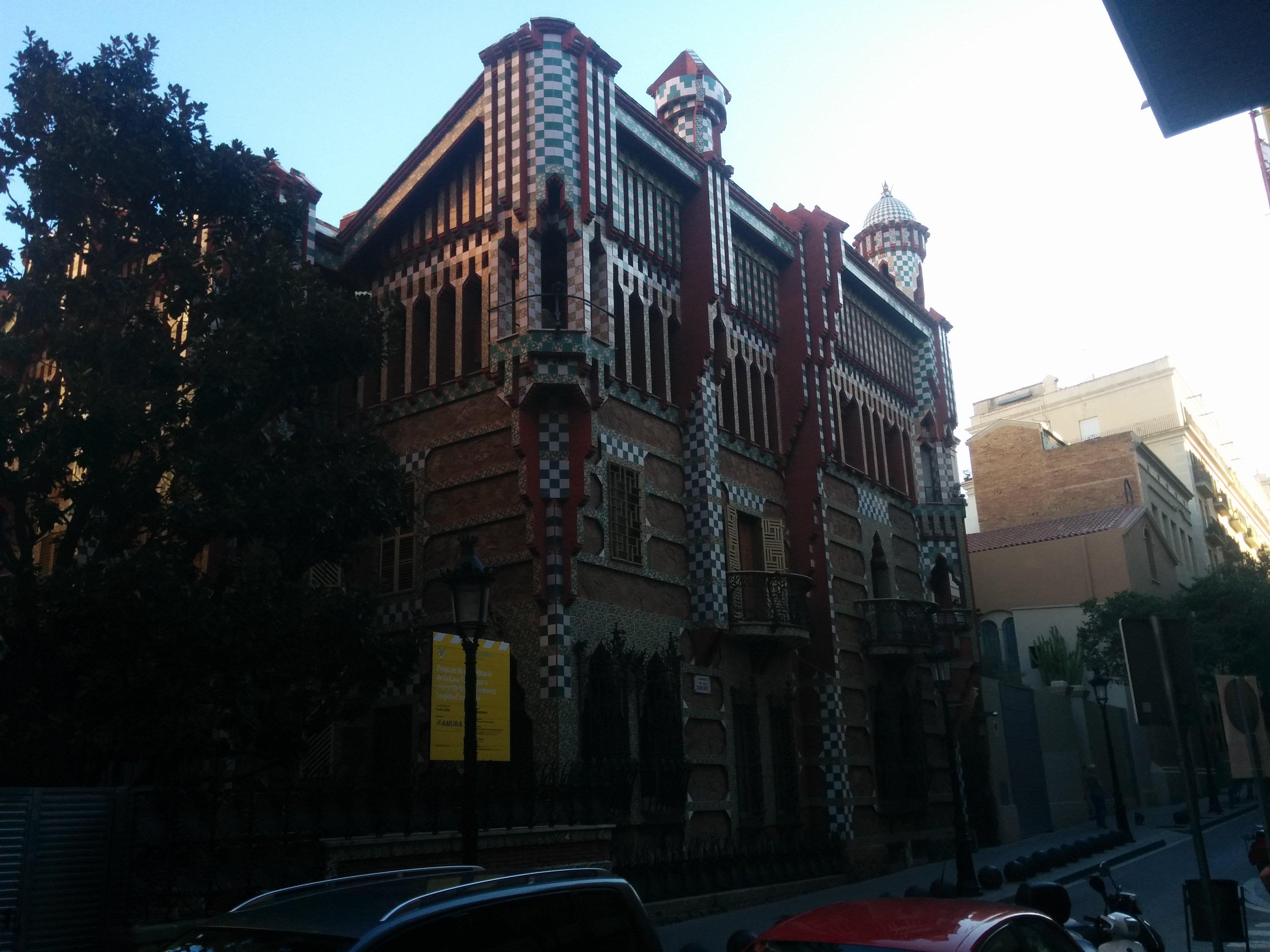 Casa Vicens - otra obra de Gaudí