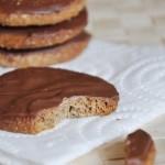 Chocolate digestives - овсяное печенье с шоколадом