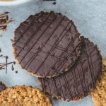 Chocolate hobnobs - тоже овсяные печеньки, только овсяные хлопья крупнее чем в digestives