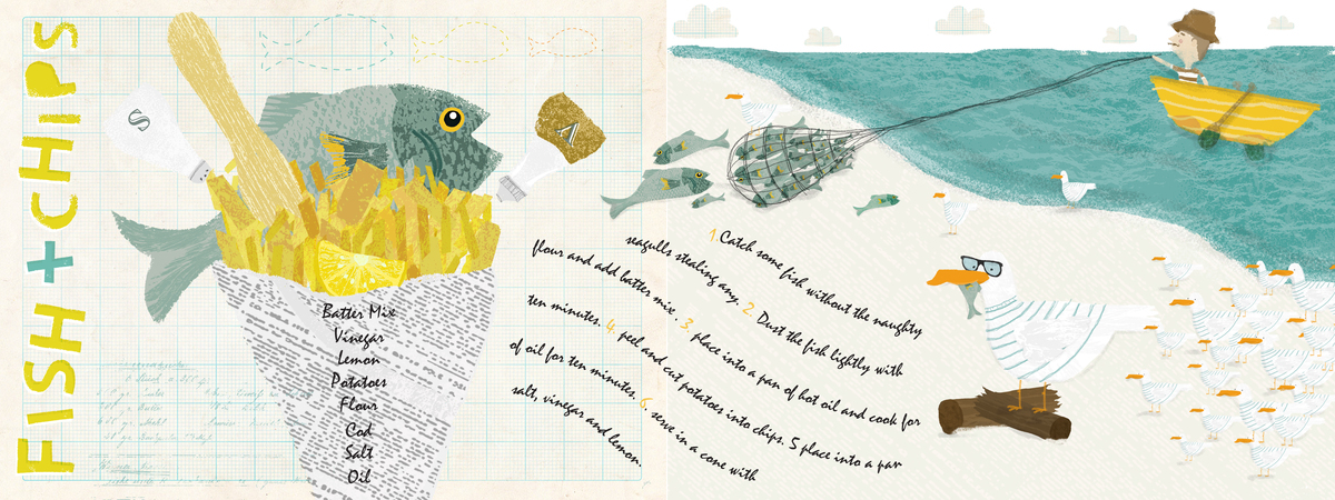 Fish and Chips recipe by Illustrative Sponge