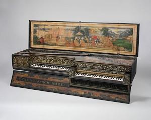 Клавесин, он же virginal