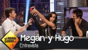 Кадр из El Hormiguero 3.0 c Megan Montaner y Hugo Silva
