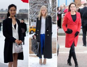 O sobretudo feminino para o inverno