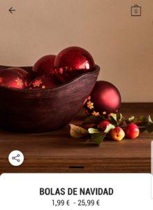 Новогодние шары из Zara Home