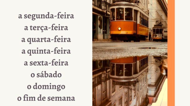 Дни недели по-португальски. Это интересно!