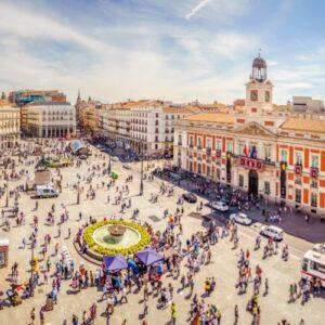 Сердце Мадрида — La puerta del Sol