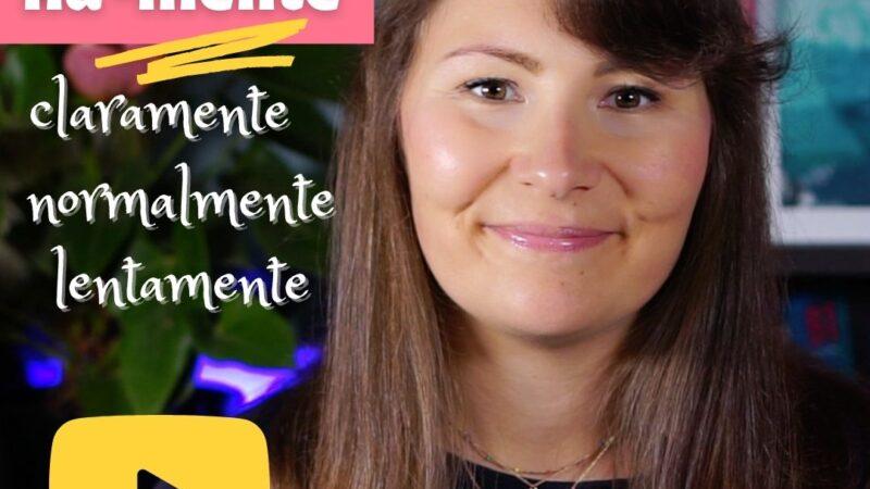 Испанские наречия на -mente